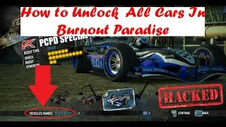 How To Unlock All Vehicles in Burnout Paradise