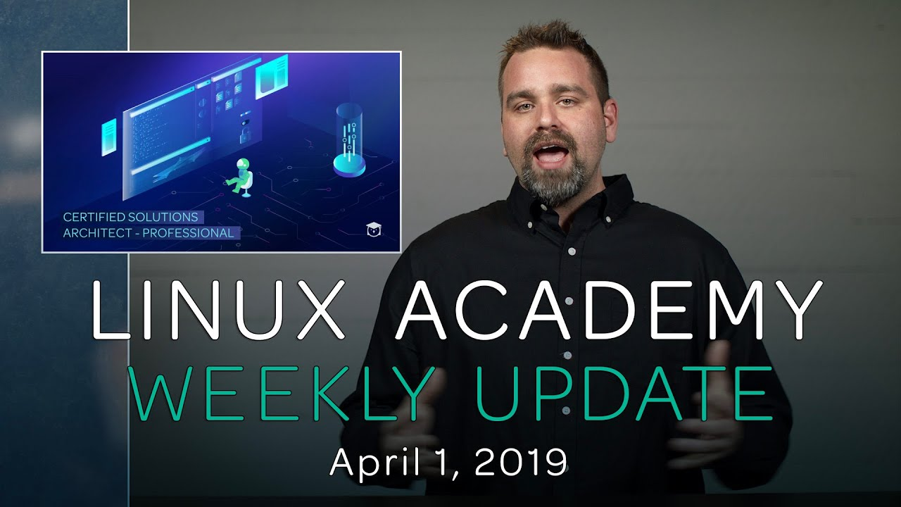 NEW AWS Certified Solutions Architect - Professional Course – Weekly Update