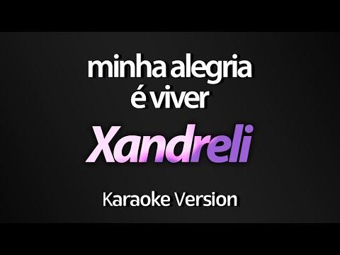 Xandreli - Minha Alegria é Viver (Tema Cúmplices de Um Resgate) (Karaoke Version) (com letra)