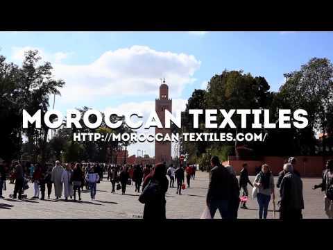 Moroccan Textiles / Marrakech