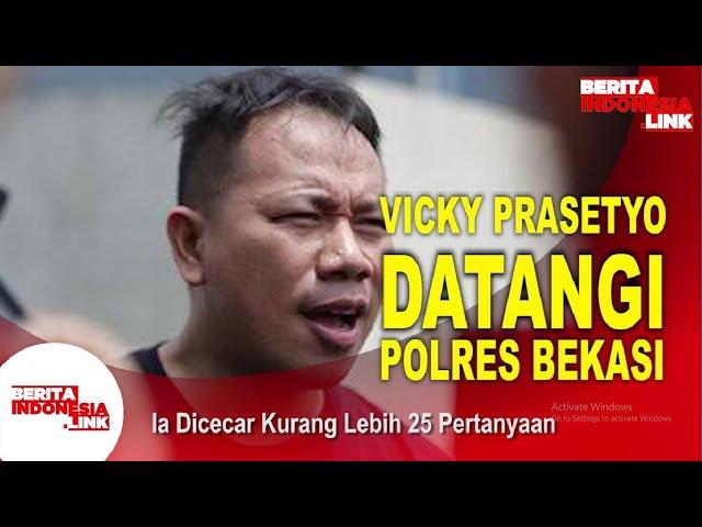 Vicky Prasetyo Ke Polres Bekasi, Ada Apa?