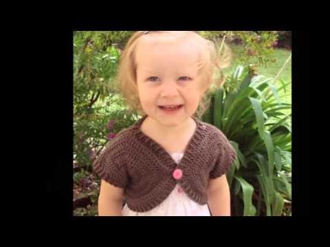 Bolero (Shrug) Type Crochet Sweaters For Girls