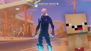 I just got the Galaxy Skin in Fortnite
