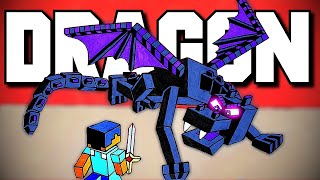 MY FIRST TIME FIGHTING THE ENDER DRAGON - Minecraft Hardcore Solo Part 2