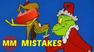 Dr. Seuss How the Grinch Stole Christmas MOVIE MISTAKES You Missed