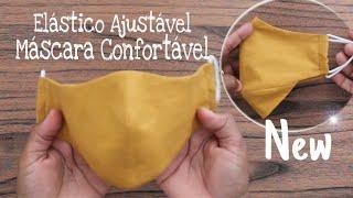 Mascara Confortável Com Elástico Ajustável