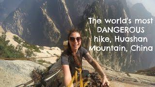 World's Most Dangerous Hike ~ HUASHAN, CHINA