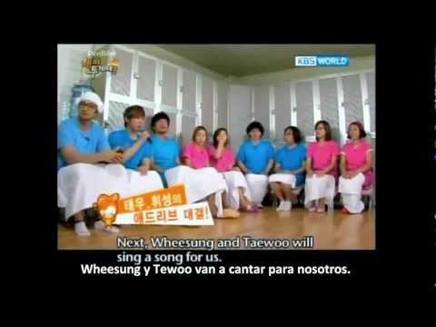 Wheesung and Kim TaeWoo funny version of Ordinary People [eng/esp sub]