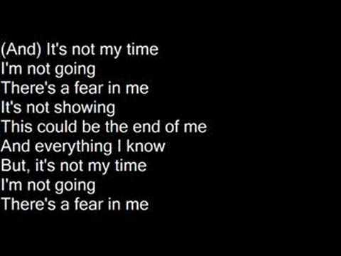 It's Not My Time - 3 Doors Down [Lyrics]