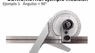 Medición de ángulos con Goniómtero | | UPV