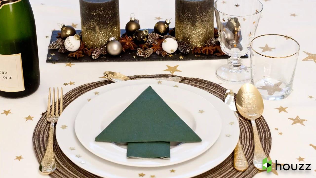 Piegare Tovaglioli Carta Natale 3 modi di piegare i tovaglioli a forma di albero di natale