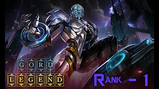 Mobile Legends Gord Legend Skin - Rank 1