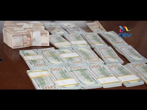 NLC official's homes raided; Ksh. 17 million in cash found