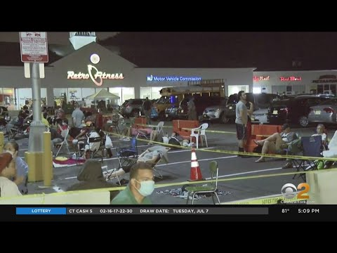 New Jersey Residents Camp Out To Get Into Motor Vehicle Commission Centers
