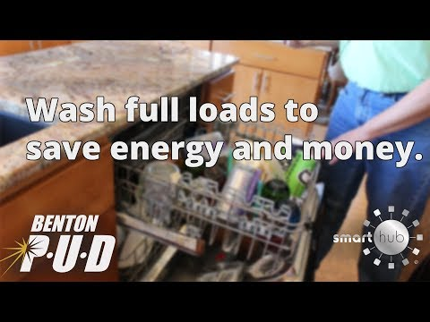 Wash Full Loads - Energy Tips