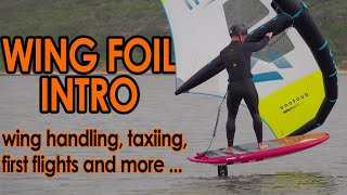 How to Wing Foil: Introduction (from wing handling to first flights)