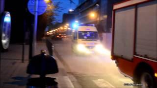 Départ Complet Pompiers Bruxelles (Départ Incendie)