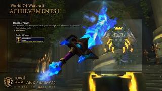 Achievement-Legion 7.1.5 Retribution Paladin Ashbringer Raid Skin-Balance of Power