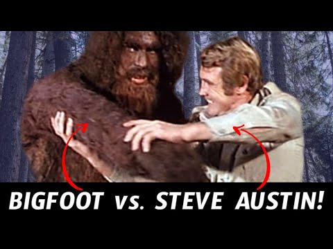 Remember When The Six Million Dollar Man Met Bigfoot?