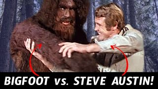 Remember When The Six Million Dollar Man Met Bigfoot?