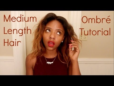 Medium length hair ombr tutorial youtube medium length hair ombr tutorial urmus Choice Image