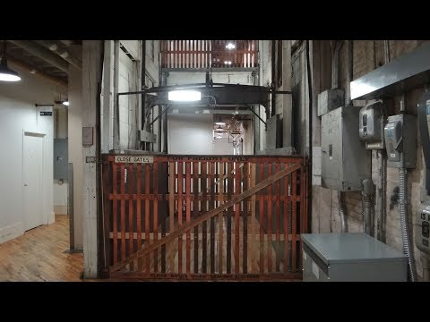 Amazing 100 year old freight elevator in Minneapolis MN