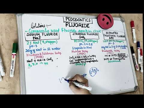 Fluoride Therapy In Dentistry I Part 2