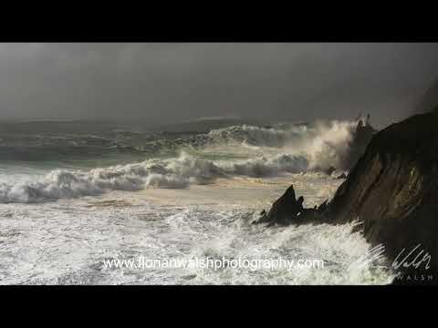 Hurricane Ophelia- 30ft waves in Kerry