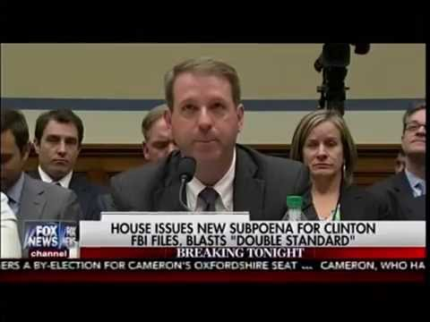 Congress Just Subpoenaed the FBI on Live T.V.! Is This The End For Hillary?