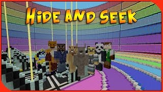 Minecraft Xbox - Hide and Seek - Ultimate Rainbow