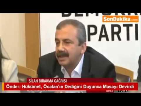 Sırrı Süreyya Önder Hükümet, Öcalan'ın Dediğini Duyunca Masayı Devirdi