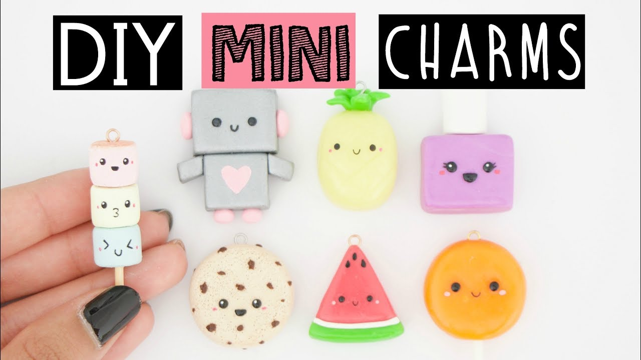 7 cutest diy mini charms youtube