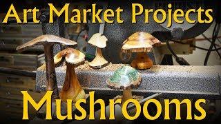 Turn a Hardwood Mushroom - Art Market Projects