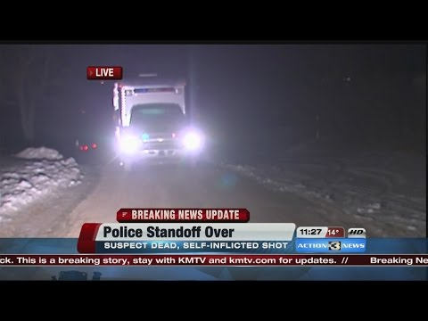 Standoff ends with 3 dead