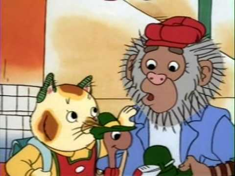 The Busy World Of Richard Scarry Missing Bananas YouTube