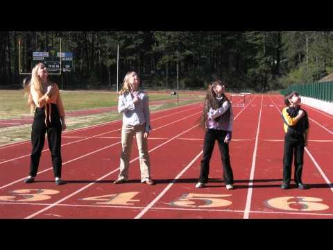 'I Walk by Faith'- Kids Dancin' on Track!