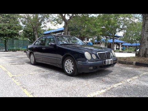 2000 Mercedes-Benz E 240 Elegance Start-Up and Full Vehicle Tour