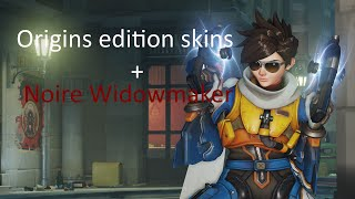 Overwatch Origins / Game of the year edition skins showcase