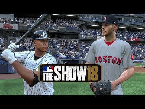 MLB The Show 18 Gameplay New York Yankees vs Boston Red Sox at Yankee Stadium – MLB 18 The Show