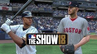 MLB The Show 18 Gameplay New York Yankees vs Boston Red Sox at Yankee Stadium – MLB 18 The Show