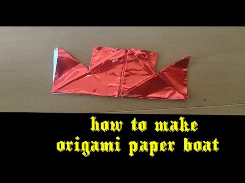 How To Make Origami Boat - Art Balloon