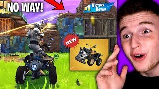 AMAZING WIN With The *NEW* QuadCrasher! (Fortnite)