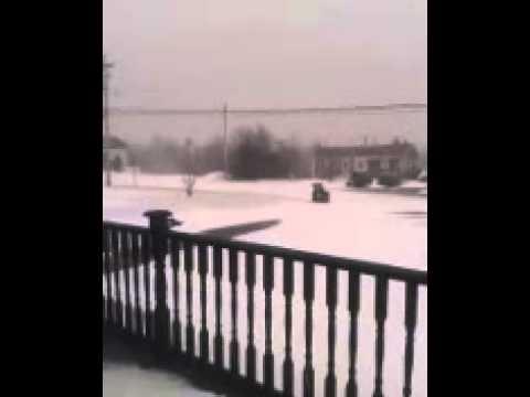Snow storm march 26 2014..Louisdale N.S..