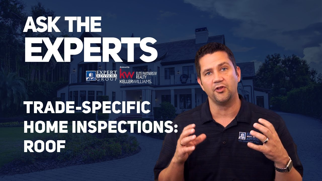 Ask the Experts:  Home Inspections: Trade Specific Inspections - Roof | Jon Wanberg