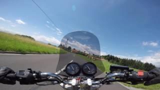 2016-07-04 Honda CB Seven Fifty - Graz - Plankenwarth - Stiwoll - Stift Rein - Gallmannsegg