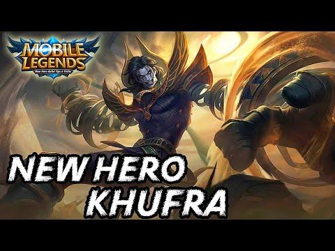 New Hero Tank Khufra Skills Explanation - Mobile Legends Bang Bang