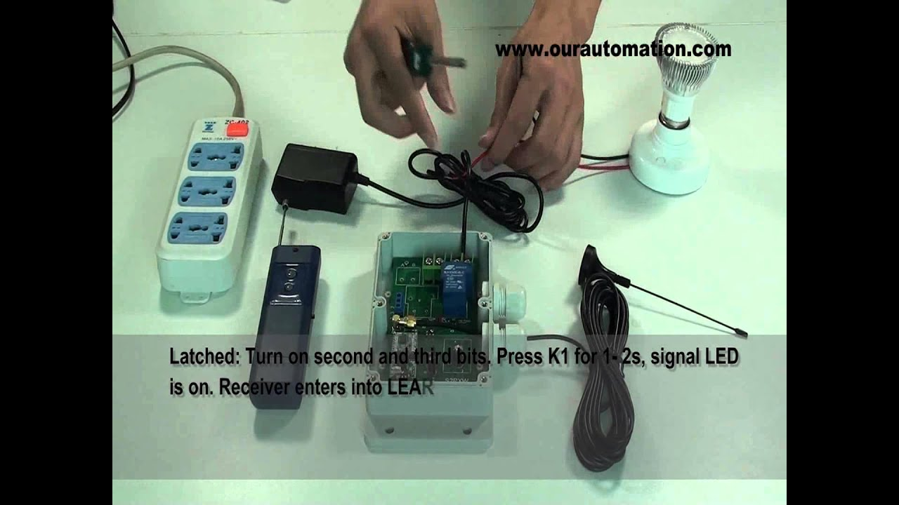 How to Achieve Remote Outdoor Light Switch - YouTube