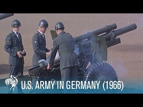 American Army In Germany (1966) | British Pathé