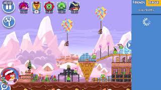 Angry Birds Friends- Santacoal e Candyclaus-Parte 3! ( Especial de natal ) Nível 3!