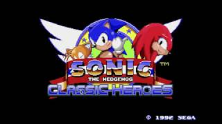 10 000 K Special - Sonic Classic Heroes Little Gameplay